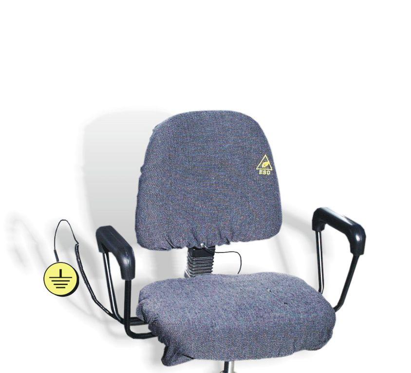 Cobertura ESD para cadeiras