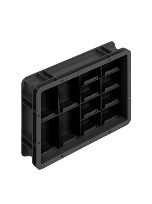 Compartimentos ESD Multifuncionais
